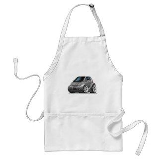 Smart Grey Car Adult Apron
