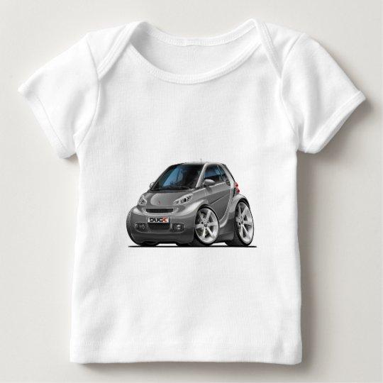 Smart Grey Car Baby T-Shirt