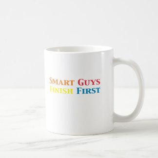 Smart Guys Finish First Gifts Coffee Mug