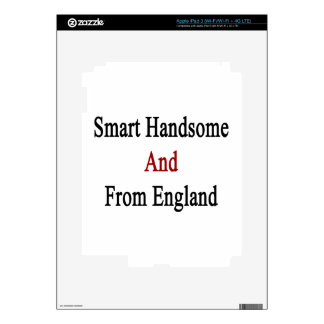 Smart Handsome And From England Decals For iPad 3