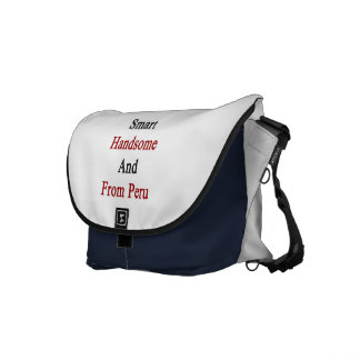 Smart Handsome And From Peru Messenger Bags