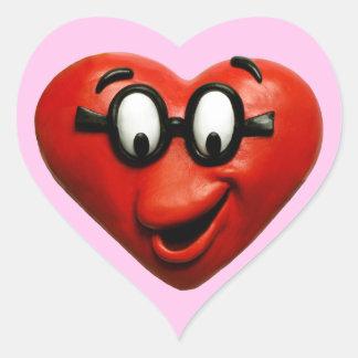 Smart Heart Heart Sticker