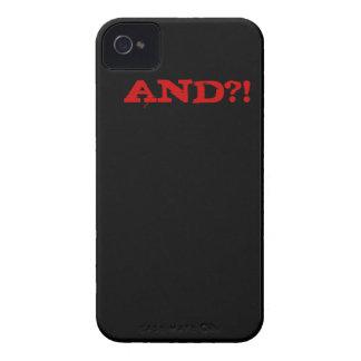 smart iPhone 4 Case-Mate case