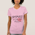 Smart Is The New Black Tee