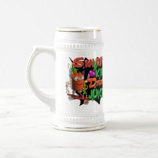 Smart Kids Drink Juice on 100+ items valxart.com Beer Stein