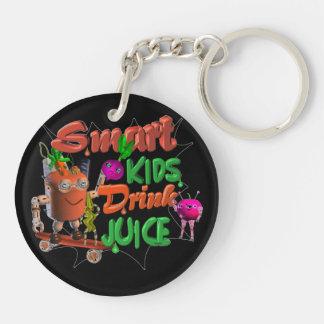 Smart Kids Drink Juice on 100+ items valxart.com Keychain