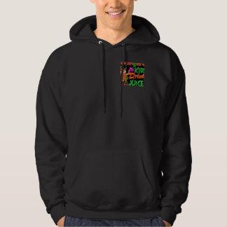 Smart Kids Drink Juice on 100+ items valxart.com Sweatshirt