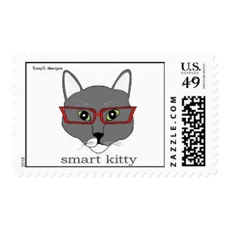 Smart Kitty Stamp