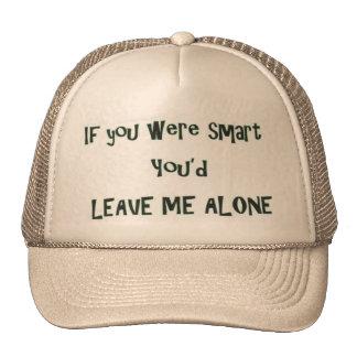 Smart Leave Me Alone Trucker Hat