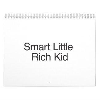 Smart Little Rich Kid.ai Calendar