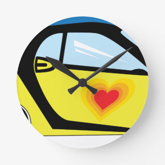 Smart Love Round Clock