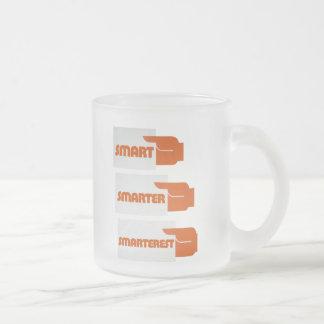 Smart más elegante taza de cristal