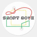 Smart Move 2009 FLL Round Sticker