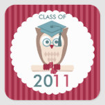 Smart Owl Class of Stickers