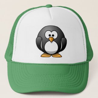 Smart Penguin Trucker Hat