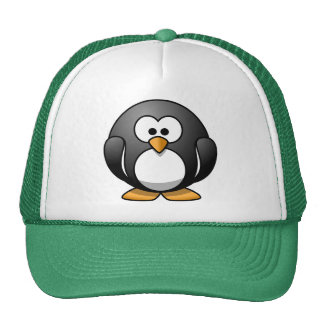 Smart Penguin Trucker Hat