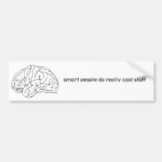 smart people bumper sticker car bumper sticker