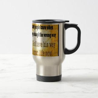 Smart People Travel Mug
