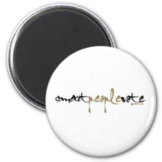 Smart People Vote Fridge Magnet