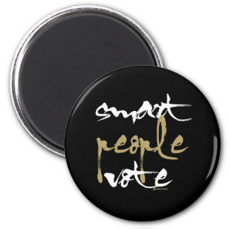 Smart People Vote Refrigerator Magnets