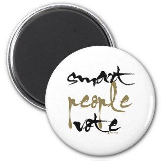 Smart People Vote Fridge Magnets