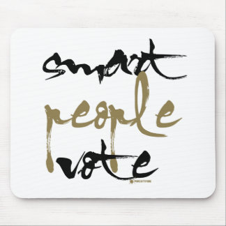 Smart People Vote Mouse Pad