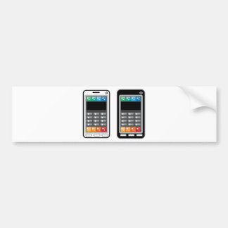 Smart Phone Bumper Sticker