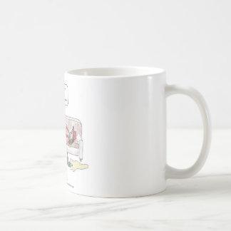 Smart Phone Cartoon-Thumbprint Coffee Mug