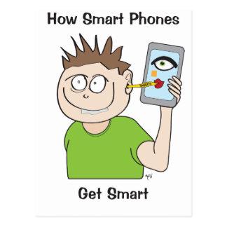 smart-phone postcard