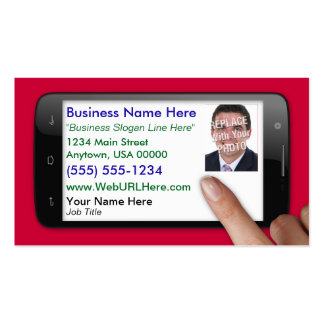 Smart Phone / Search Engine Style Business Card