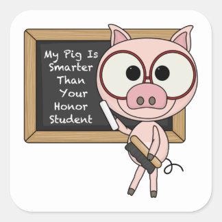 Smart Pig Stickers