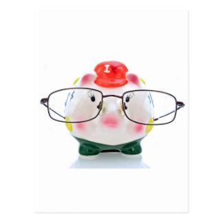 Smart Piggy Bank Postcard