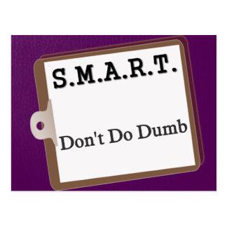 SMART planning process (2) Postcard