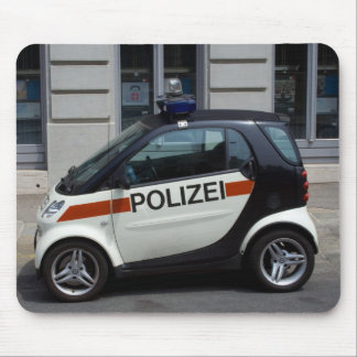 smart Police Car Mouse Pad