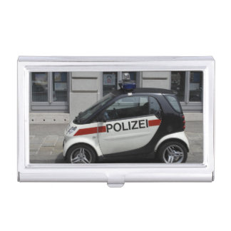 Smart Polizei Auto Business Card Holder