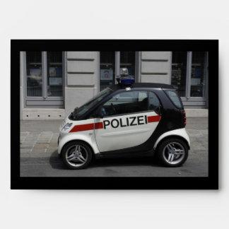 Smart Polizei Auto Envelope