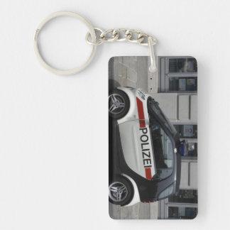 Smart Polizei Auto Keychain