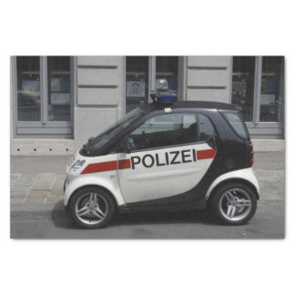 Smart Polizei Auto Tissue Paper