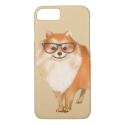 Case-Mate Barely There iPhone 7 Case with Pomeranian Phone Cases design