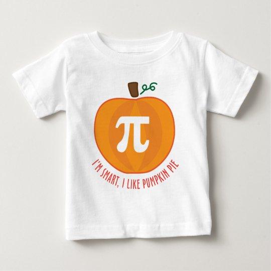 Smart Pumpkin Pie Baby T-Shirt