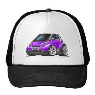 Smart Purple Car Trucker Hat