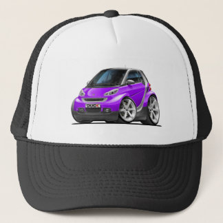 Smart Purple Car Trucker Hat