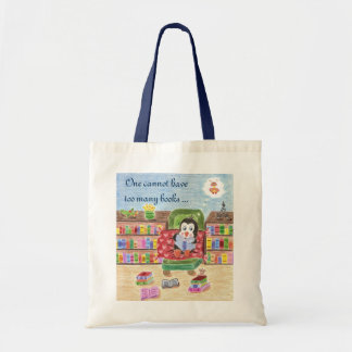 Smart reading penguin kid library bag