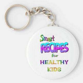 Smart Recipes for Healthy Kids Keychain