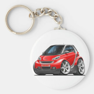 Smart Red Car Keychain