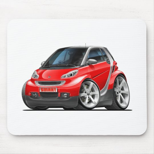 Smart Red Car Mouse Pad