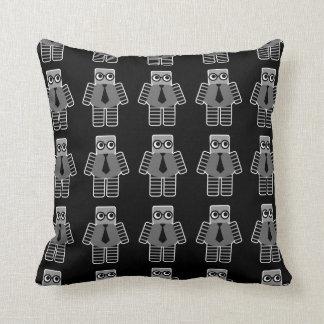Smart Robot Throw Pillow