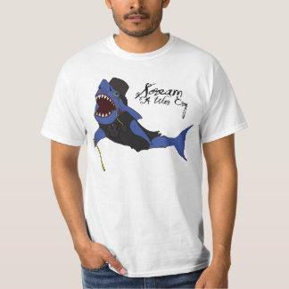 Smart Shark T-shirt (white)