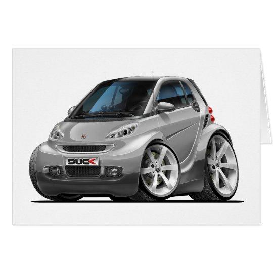 Smart Silver Car Card