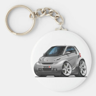 Smart Silver Car Key Chain